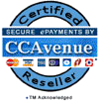 CCAvenue Authorized Reseller Seal